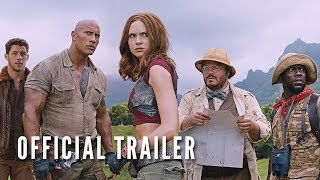 Download JUMANJI: WELCOME TO THE JUNGLE (OFFICIAL TRAILER) Video