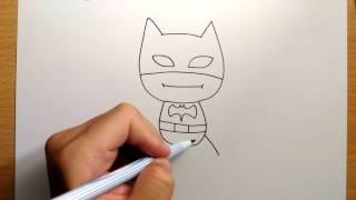 Download สอนวาดรูป   การ์ตูน แบทแมน ง่ายๆ   วาดการ์ตูน กันเถอะ Video