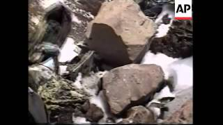 Download Investigators find frozen bodies in 30 year old plane crash Video