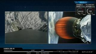 Download SPACEX - Landing of first stage Falcon 9 rocket - From space to ground - Spacex Video