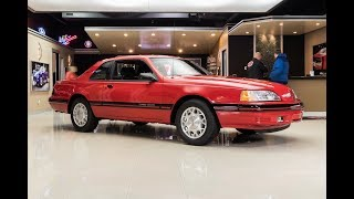 Download 1988 Ford Thunderbird Turbo Coupe For Sale Video