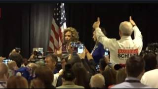 Download Debbie Wasserman Schultz FULL SPEECH: BOOED OFF STAGE at DNC By Florida Delegation 7/25/16 Video