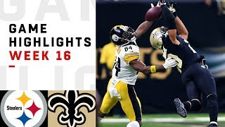 Download Steelers vs. Saints Week 16 Highlights | NFL 2018 Video