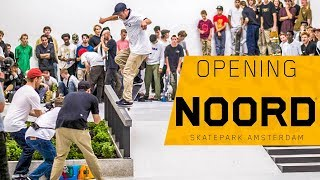 Download Opening Skatepark ''Noord'' Amsterdam + Nike SB Demo (Grant Taylor, Carlos Ribeiro, Sean Malto) Video