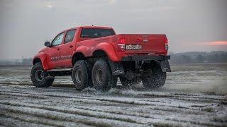 Download Toyota Hilux Arctic Trucks 6x6, тест-драйв Video