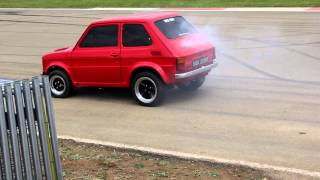 Download Fiat 126 Maluch (with Chevy V8 power) Video