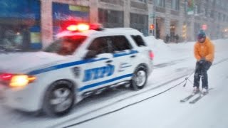 Download SNOWBOARDING WITH THE NYPD Video