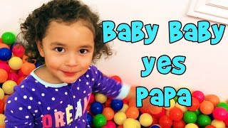 Download Top 3 Baby Baby Yes Papa Kid's song like Johnny Johnny Yes Papa Video