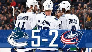 Download Canucks vs Blue Jackets | Highlights | Jan. 12, 2018 [HD] Video