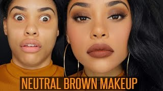 Download NEUTRAL BROWN MAKEUP Video