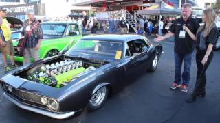 Download LS-Powered V12 in a '67 Camaro?!? Video