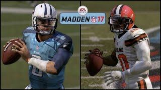 Download Madden 17 (Xbox One) Browns vs Titans Gameplay (Full Game) Video