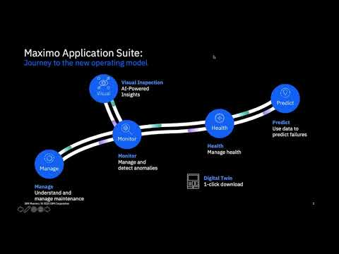 Maximo Application Suite Health and Predict Demonstration