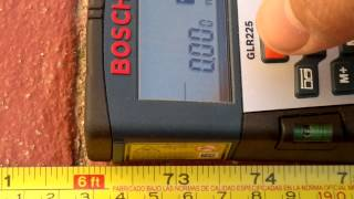 Download Medidor de Distancia Laser Bosch GLR-225 Video