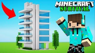 Download MEMBUAT HOTEL UNTUK VILLAGER ! Minecraft Survival #65 Video