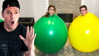 Download STUCK IN A GIANT BALLOON!! Video