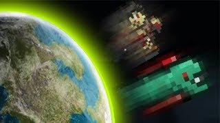 Download Terraria: Max Knockback Weapons Vs Lightest Monster!! Video