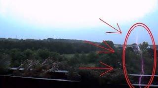 Download Hatalmas villámcsapás a soproni Jereván lakótelepen! Video