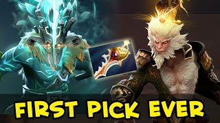 Download First Monkey King pick in pro match + Juggernaut Arcana Video