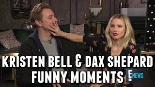 Download Kristen Bell and Dax Shepard Funny Moments Video