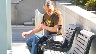 Download Homeless Man Does Breathtaking Act Social Experiment Video
