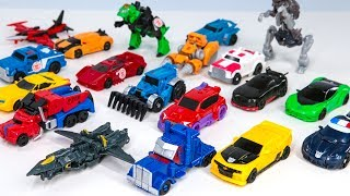 Download Transformers 5 The Last Knight & Robots In Disguise Legion Class 19 Vehicle Car Dinosaur Robot Toys Video