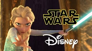 Download Star Wars Disney - Let it Flow - Let it Go Frozen Parody Video