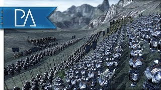 Download DEFENSE OF THE FORBIDDEN MOUNTAINS - Third Age Total War Reforged Mod Gameplay Video