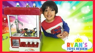 Download Thomas and Friends Surprise Toys Challenge with Claw Arcade Crane Machine Video