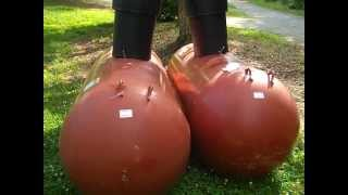 Download Consider a propane plan for your retreat. Step 1: Setting the tanks Video