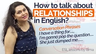 Download How to talk about Relationships in English? – Improve English speaking | Free English lessons Video