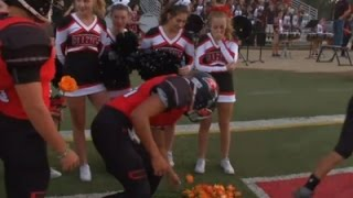 Download Football Team Gives Roses to Ill Cheerleader Video