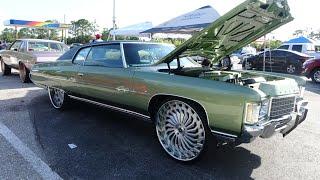 Download Veltboy314 - LSA/Supercharged '71 Donk On 26″ Savini Wheels - Street Beast 2 Car Show & Grudge Race Video