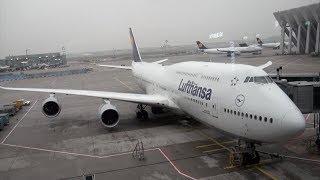 Download Lufthansa Boeing 747-8 D-ABYQ LH 490 Frankfurt-Seattle Economy Class Seat 27K Trip Report Video
