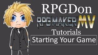 Download RPG Maker MV Tutorial -starting your game- Video