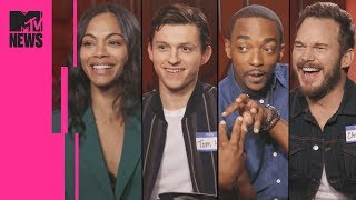 Download The 'Avengers: Infinity War' Cast Play Marvel Trivia | MTV News Video