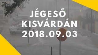 Download Jégeső (Kisvárda 2018 szeptember 3) Video