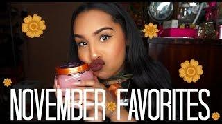 Download November Favorites   TheAnayaL8ter Video