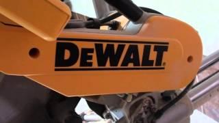 Download DEWALT DWS780 торцовочная пила. Video