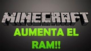 Download Tutorial: Aumentar La Memoria Ram de tu Minecraft Video