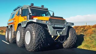 Download The HUGE Avtoros Shaman 8x8 | Top Gear Series 24 | BBC Video