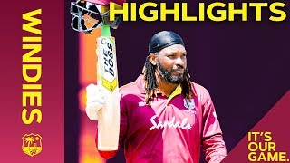 Download Gayle Goes Big (And Retires?!) as Kohli Hits 43rd Ton | Windies vs India 3rd ODI 2019 - Highlights Video
