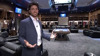 Download Dansby Swanson tours the new Braves clubhouse Video