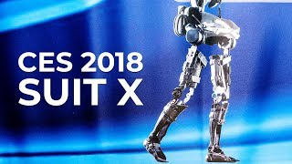 Download CES 2018 - Suit X Exoskeleton at the Consumer Electronics Show Video