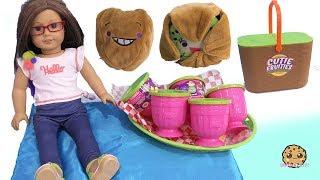 Download Cutie Fruities Picnic ! Surprise Blind Bag Plush Fruit Cups Video