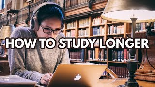 Download How To Study For Longer Periods | 5 Concentration Tips! Video