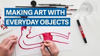 Download Making art with everyday objects Video