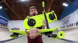 Download THE MOST INCREDIBLE SKATEBOARD INVENTION OF ALL TIME?! Video