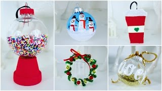 Download 5 CHEAP AND EASY DIY CHRISTMAS ORNAMENTS | PINTEREST INSPIRED Video