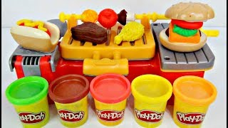 Download Play-doh Cookout Creation Grill Kitchen! D.I.Y. Kid Craft Video